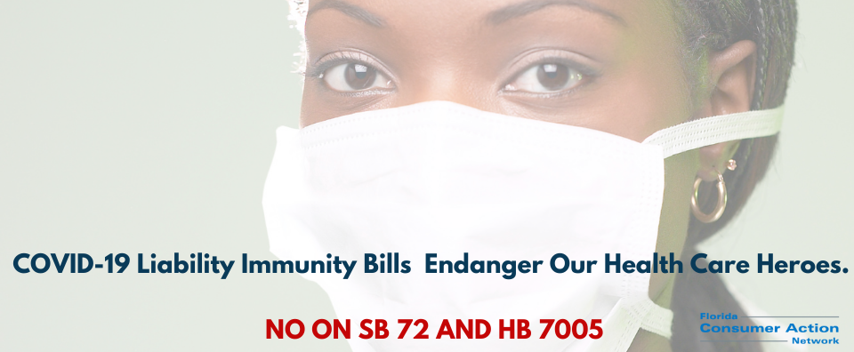 Oppose SB 72 and HB 7005