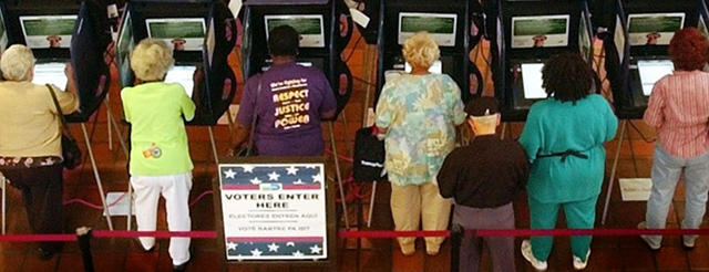Voting is a basic right.