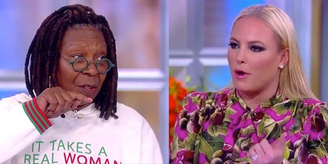 The view whoopi goldberg meghan mccain argument 1543509199