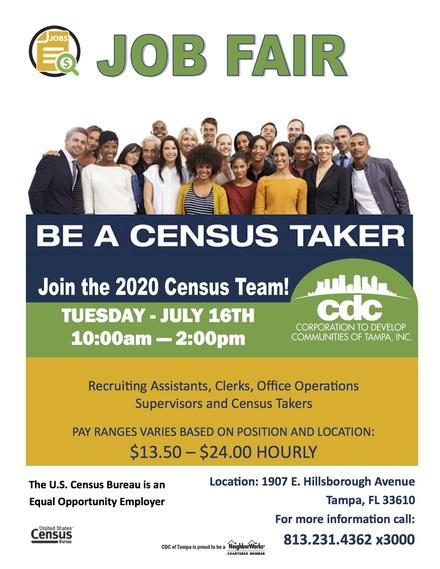 Census job fair july 2019 b