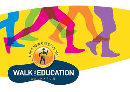 2018 new orleans walk logo legs
