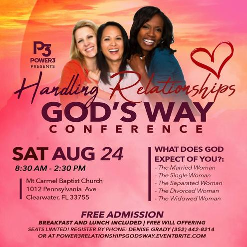 Handling Relationships God's Way Women's Conference - The