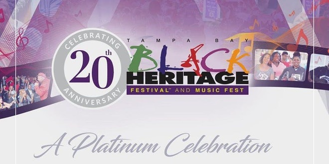 Black Heritage Festival 2020 Tampa Bay Black Heritage Music Fest 2020   The Power Broker Magazine