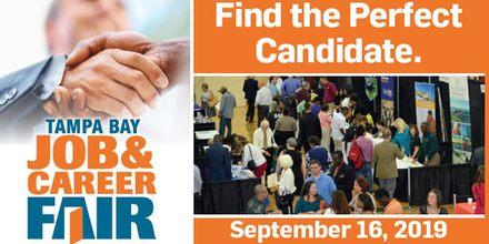 Tampa Bay Job & Career Fair September 16th