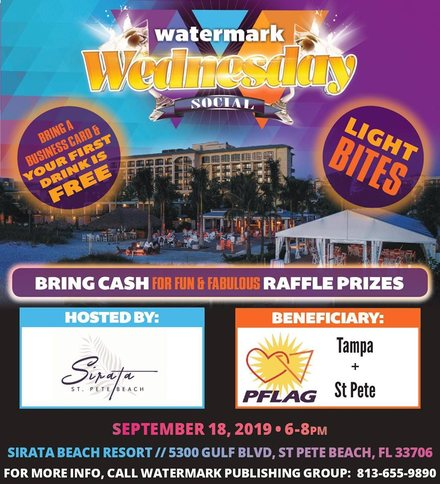 September Watermark Wednesday Networking Social Mixer