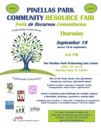 Pinellas park resource fair