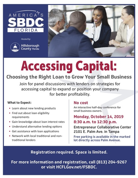 Ed accessing capital conference flyer final