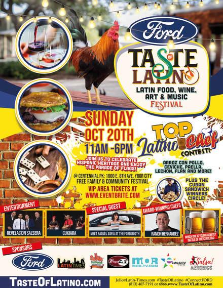 Taste of Latino: Food, Beer, Wine, Art & Music Festival