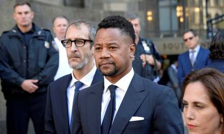 Cuba Gooding Jr pleads not guilty to forcible touching charge