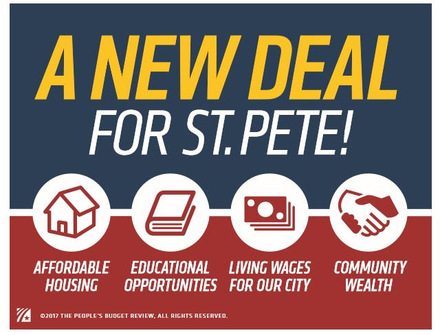 New Deal for St. Pete: General Meeting Nov. 4th