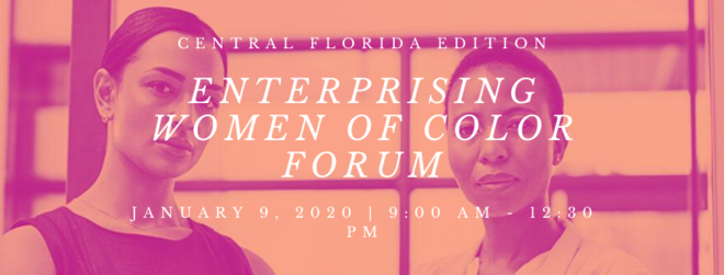 Enterprising women of color forum