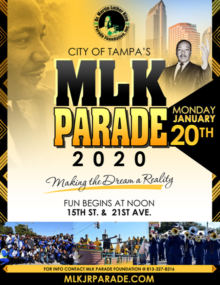 Mlk parade flyer 2020