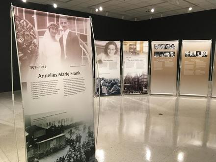 Let Me Be Myself: The Life Story of Anne Frank Opening Event & Dessert Reception