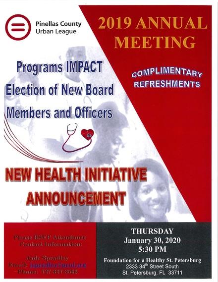Pcul annual meeting info