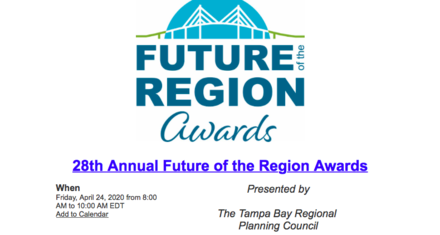 POSTPONED 28th Annual Future of the Region Awards Breakfast Event