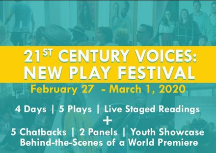 New Plays & New Voices: 4th Annual 21st Century Voices New Play Festival