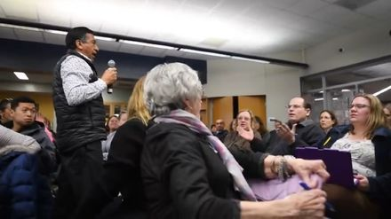 School meeting about racism ends with parent's racist remark