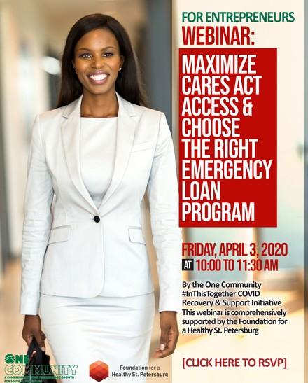 Entrepreneurs webinar friday april 3 2020   covid loan   support programs2