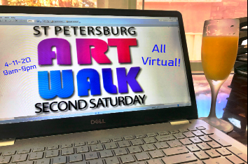 VIRTUAL St. Pete Second Saturday ArtWalk 4-11-20