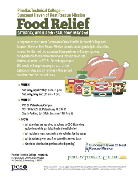 Owi 291 food relief flyer