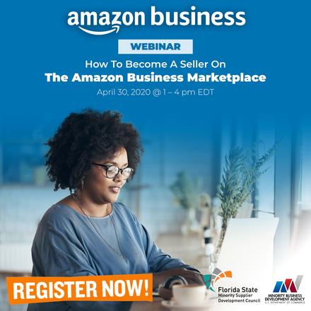 Amazon event flyer