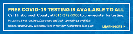 Hillsborough county testing available for all