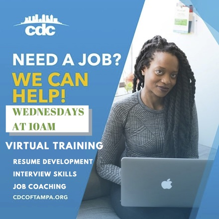 Virtual training every wed at 10