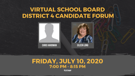 Virtual Pinellas School Board District 4 Candidate Forum