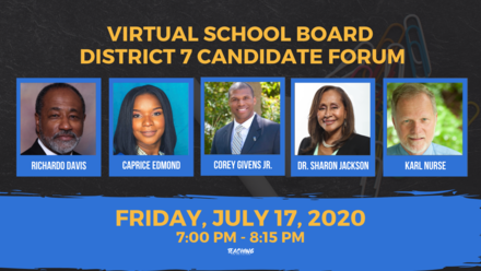 Virtual pinellas school board candidate forum