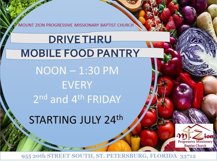 Food pantry fridays
