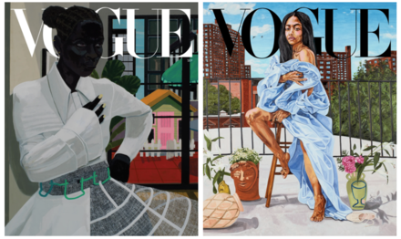 Vogue Enlists Black Artists Kerry James Marshall and Jordan Casteel to Paint History-Making September Covers