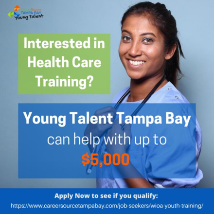 Health Care Training Grant Opportunity: Up to $5,000 for select Training positions