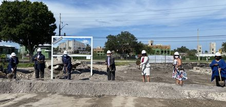 Affordable housing development breaks ground in Skyway Marina District