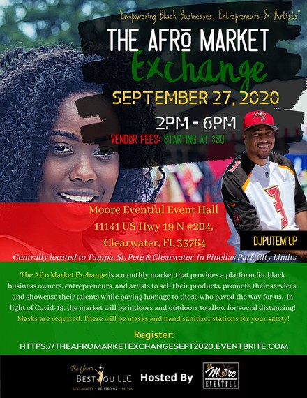 The Afro Market Exchange September 27th