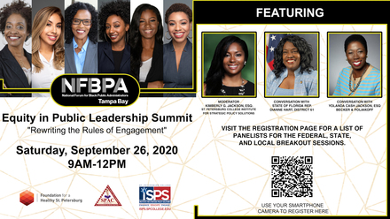 NFBPA Tampa Bay Chapter Equity in Public Leadership Summit