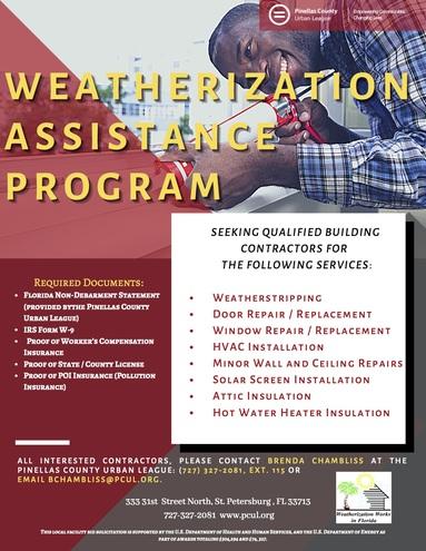 Weatherization contractors