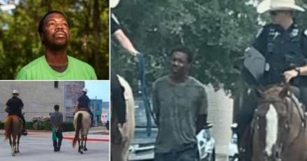 A Black man who was led through Galveston, Texas, by police officers on horseback is suing the city for $1 million