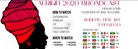 AFRIKIN 2020: A NEW WAY OF BEING Broadcast