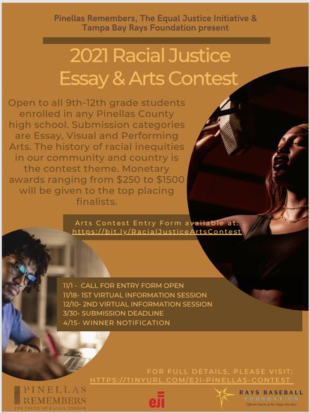 RACIAL JUSTICE ESSAY & ART CONTEST