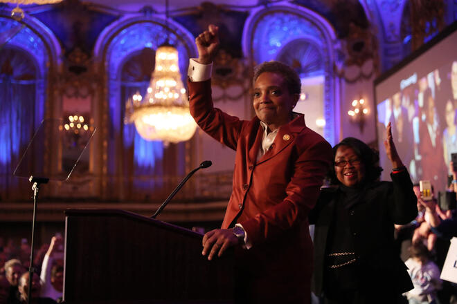 Ct met chicago election results mayors race lightfoot preckwinkle 20190402