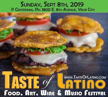 Tasteoflatino festival flyer orig