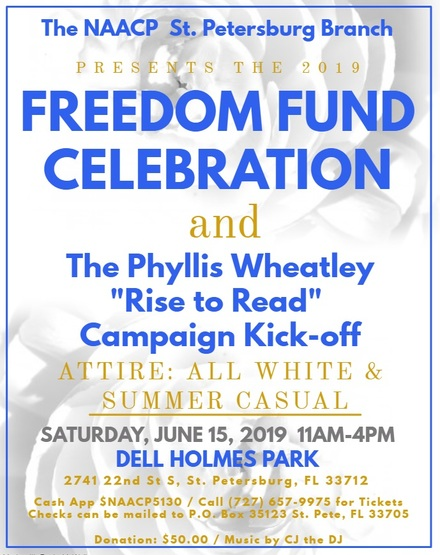 Freedom fund flyer 2019