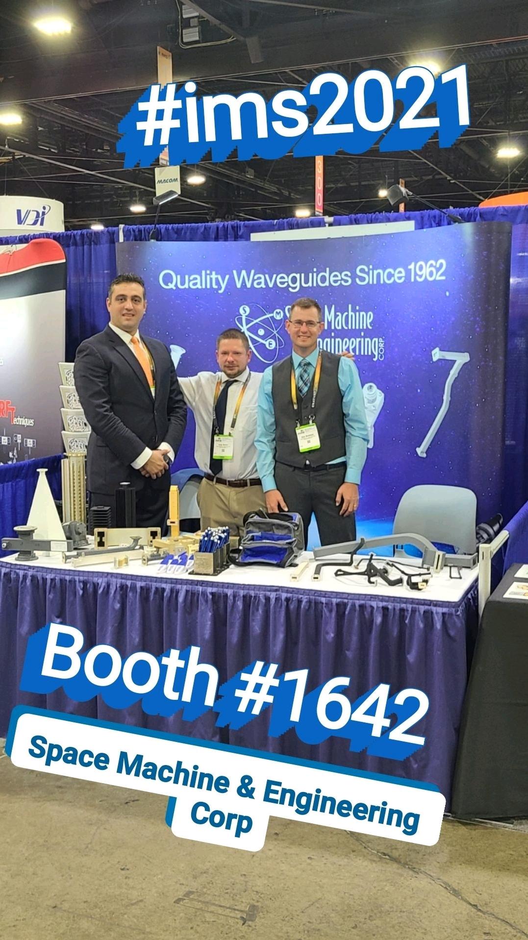 SME Team at Booth #1642 at IMS2021