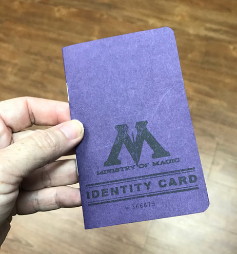Personalized Ministry of Magic ID