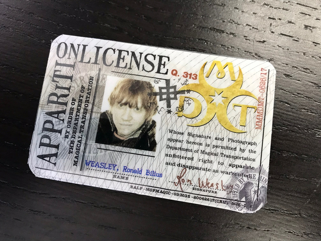 Personalized Apparition License