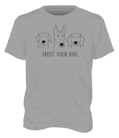 Trust your dog shirt mockup