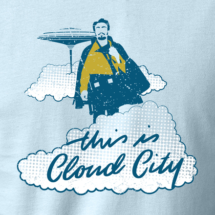 This is cloud city art